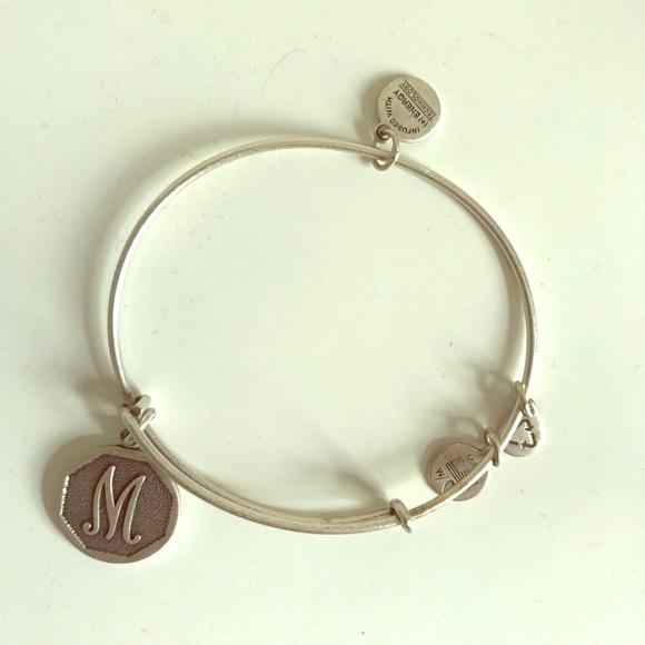 """Alex and Ani Jewelry - Alex and Ani """"M"""" Charm Bangle"""